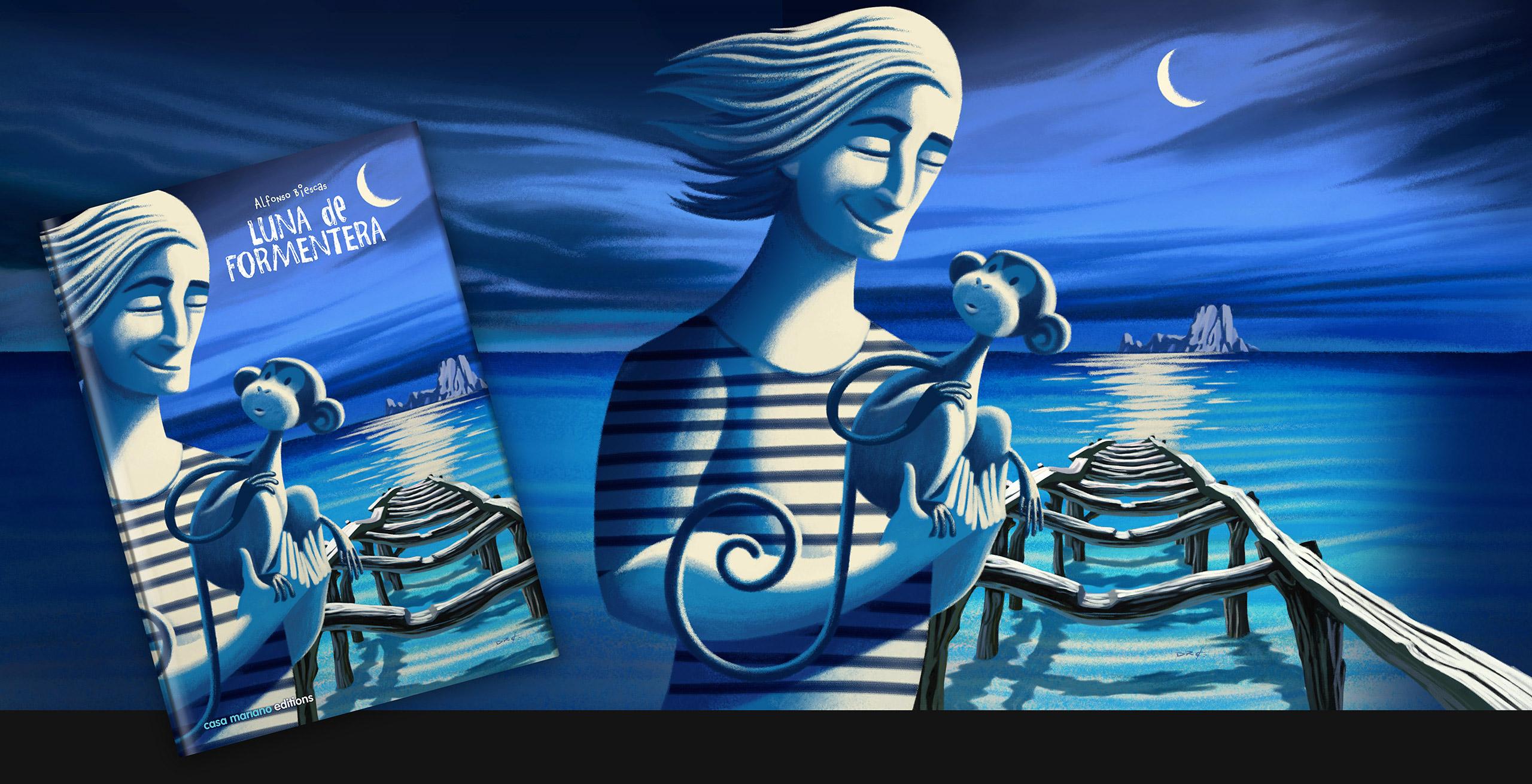 www.davidderamon.com - illustration - formentera