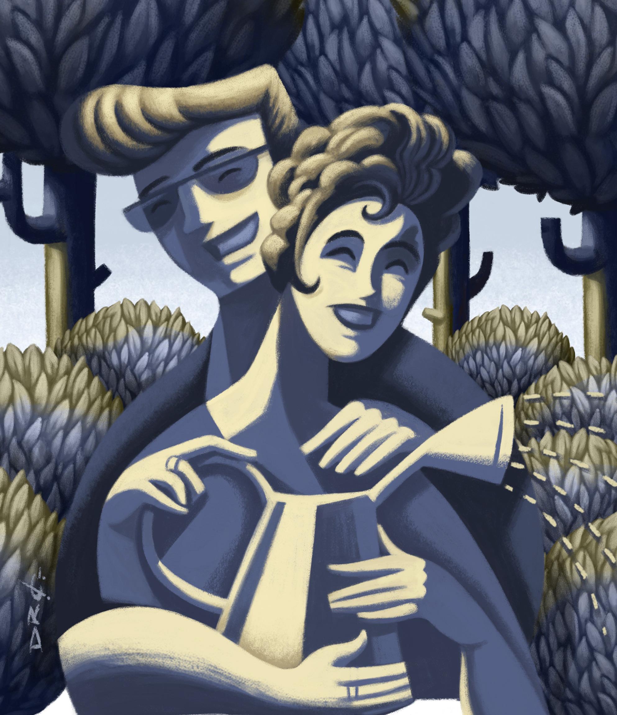 www.davidderamon.com - illustration - las ganas