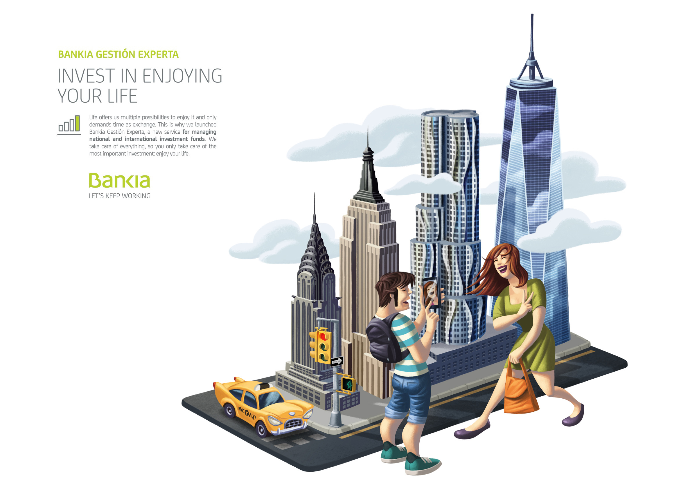 www.davidderamon.com - illustration - bankia