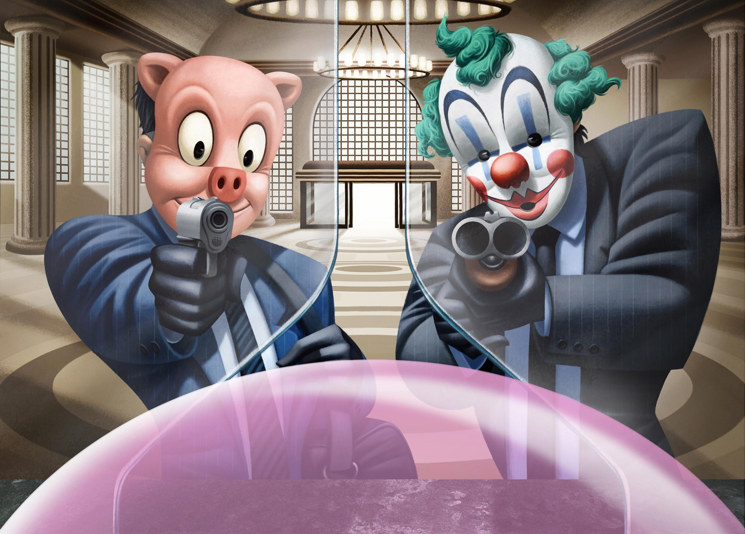 www.davidderamon.com - illustration - bubbaloo