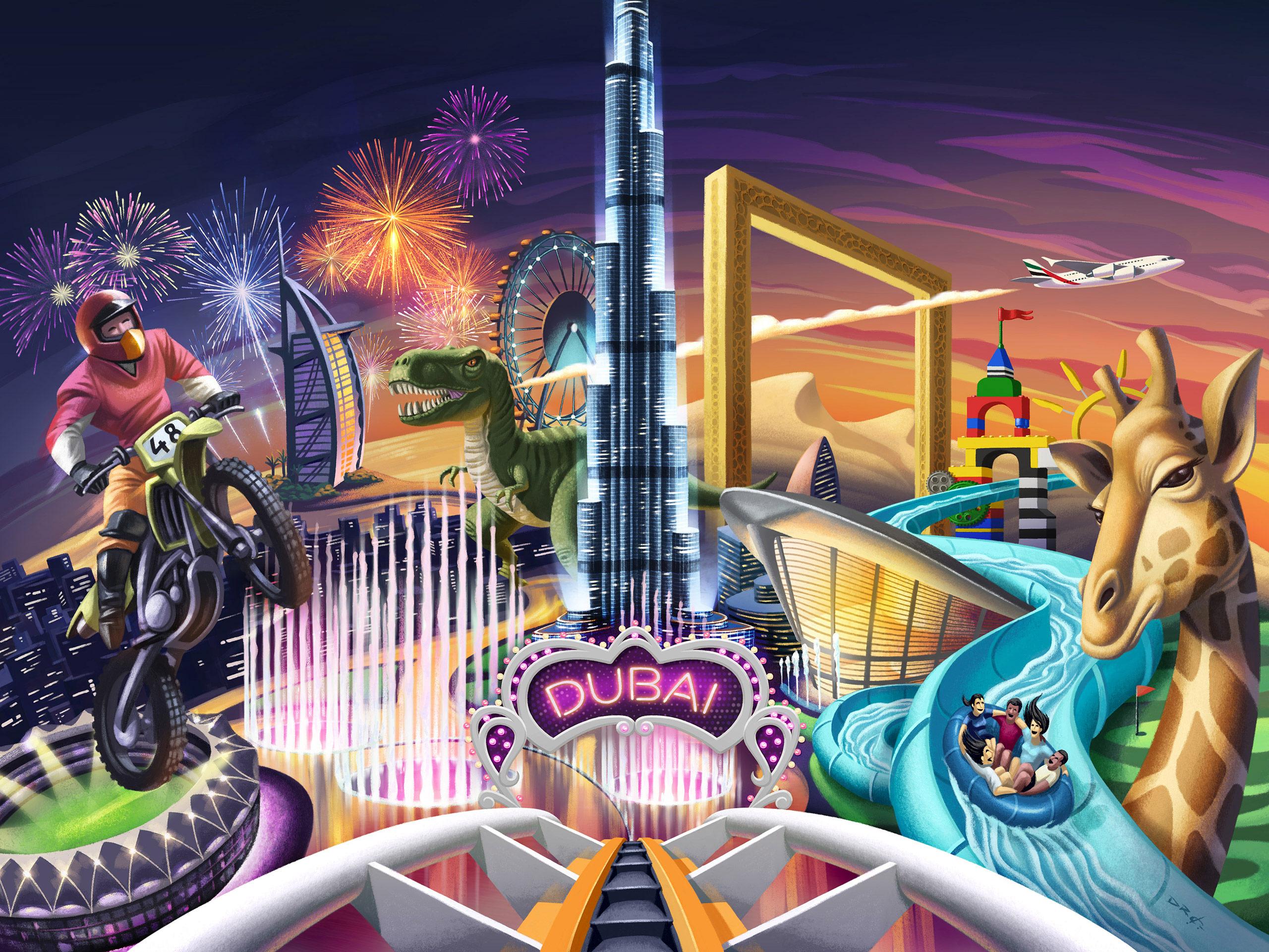 www.davidderamon.com - illustration - invest Dubai